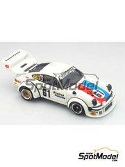 Arena: Model car kit 1/43 scale - Porsche 934/5 Brumos #61 - Busby + Peter Gregg (US) - Sebring 1977 - resin multimaterial kit