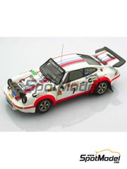 Arena: Model car kit 1/43 scale - Porsche 911 Carrera 2.7 RS Team Boldrinauto #7 - Vannini (IT) + D'Avena (IT) - Rally Prealpino Venette 1977 - resin multimaterial kit