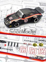 Arena: Model car kit 1/43 scale - Porsche 911 Carrera RSR Team Interescope #63 - Ted Field (US) - 24 Hours Daytona 1977 - resin multimaterial kit