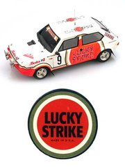 Arena: Model car kit 1/43 scale - Fiat Ritmo 75 Lucky Strike - William 'Willy' Plas (BE) - Omloop Van Vlaanderen Rally 1982