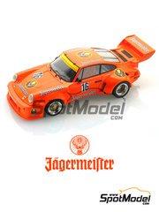 Arena: Model kit 1/25 scale - Porsche 935 Carrera RSR 3.0