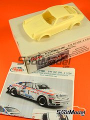Arena: Model car kit 1/24 scale - Porsche 911SC Group 4 Eminence #1 - Walter Röhrl (DE) + Christian Geistdörfer (DE) - Sanremo Rally 1981 - resin multimaterial kit
