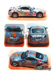 Arena: Transkit 1/43 scale - Nissan 350 Z Rally GT #204 - Toni Gardemeister (FI) + Suominen - Mile Miglia 2007