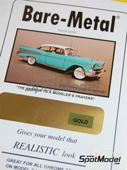 Bare Metal Foil Co: Material - Gold - 16 x 60 cm - 1 units