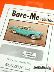 Bare Metal Foil Co: Material - Matte Aluminium - 16 x 60 cm - 1 units