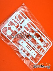 Beemax Model Kits: Spare part 1/24 scale - BMW M3 E30 Rally Group A: Sprues H, I and K - plastic parts - for Beemax Model Kits reference B24016