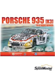 Beemax Model Kits: Model car kit 1/24 scale - Porsche 935 K3 - 24 Hours Le Mans - plastic parts, rubber parts, water slide decals, assembly instructions and painting instructions