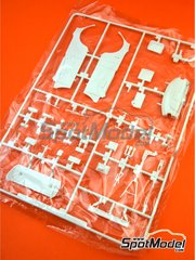 Belkits: Spare part 1/24 scale - Skoda Fabia S2000 Evo: Sprue D - plastic parts - for Belkits reference BEL-004