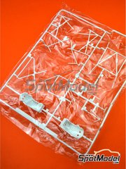Belkits: Spare part 1/24 scale - Skoda Fabia S2000 Evo: Sprue E - plastic parts - for Belkits reference BEL-004