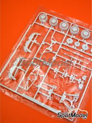Belkits: Spare part 1/24 scale - Skoda Fabia S2000 Evo: Sprue G - plastic parts - for Belkits references BEL-004 and BEL004