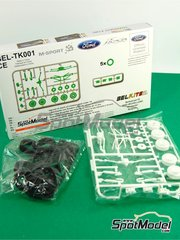 Belkits: Transkit 1/24 scale - Ford Fiesta RS WRC and S2000 - Gravel set - for Belkits references BEL-002, BEL-003, BEL012 and BEL-012