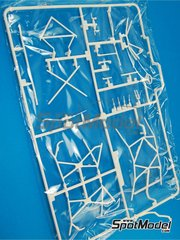 Belkits: Spare part 1/24 scale - Ford Fiesta RS WRC: Sprue D - plastic parts - for Belkits reference BEL-003