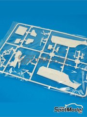 Belkits: Spare part 1/24 scale - Ford Fiesta RS WRC: Sprue E - plastic parts - for Belkits reference BEL-003