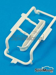 Belkits: Spare part 1/24 scale - Ford Fiesta RS WRC: Sprue H - plastic parts - for Belkits reference BEL-003