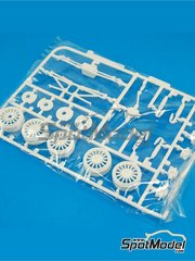 Belkits: Spare part 1/24 scale - Ford Fiesta RS WRC: Sprue J - plastic parts - for Belkits reference BEL-003