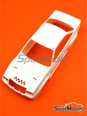 Belkits: Spare part 1/24 scale - Opel Manta 400 Group B: Body - plastic parts - for Belkits references BEL008 and BEL009
