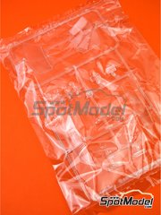 Belkits: Spare part 1/24 scale - Opel Manta 400 Group B: Sprue B - rubber parts - for Belkits references BEL008 and BEL009