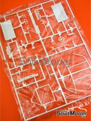 Belkits: Spare part 1/24 scale - Opel Manta 400 Group B: Sprue D - plastic parts - for Belkits references BEL008 and BEL009