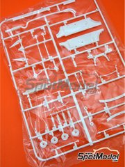 Belkits: Spare part 1/24 scale - Opel Manta 400 Group B: Sprue F - plastic parts - for Belkits references BEL008, BEL-008, BEL009 and BEL-009