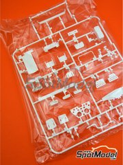 Belkits: Spare part 1/24 scale - Opel Manta 400 Group B: Sprue H - rubber parts - for Belkits references BEL008 and BEL009