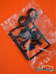 Belkits: Spare part 1/24 scale - Opel Manta 400 Group B: Sprue I - rubber parts - for Belkits references BEL008 and BEL009