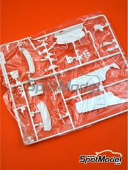 Belkits: Spare part 1/24 scale - Volkswagen Polo R WRC: Sprue E - plastic parts - for Belkits reference BEL010