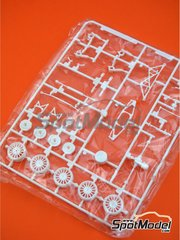 Belkits: Spare part 1/24 scale - Volkswagen Polo R WRC: Sprue H - plastic parts - for Belkits reference BEL010