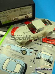 C1 Models: Transkit 1/24 scale - Porsche 993 RWB Widebody Rauh-Welt - resins, photo-etched parts and decals - for Tamiya references TAM24175, TAM24181 and TAM24247