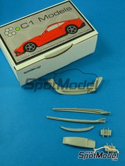 C1 Models: Transkit 1/24 scale - Ferrari Berlinetta F12 DMC Spia - resins - for Fujimi references FJ125626 and FJ125664