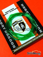 Crazy Modeler: Detail - Coloured green tube 1mm diameter x 1 meter long