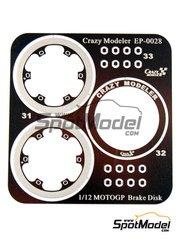 Crazy Modeler: Detail 1/12 scale - Brake disc for MotoGP - photo-etch