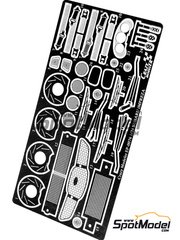 Crazy Modeler: Photo-etched parts 1/24 scale - Subaru Impreza WRX