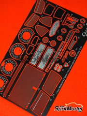 Crazy Modeler: Photo-etched parts 1/24 scale - Lamborghini Murcielago