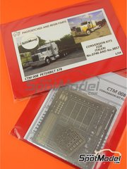 Czech Truck Model: Photo-etched parts 1/24 scale - Peterbilt 378 - for Italeri kits 3857, 3894 and 746