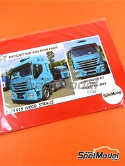 Czech Truck Model: Photo-etched parts 1/24 scale - Iveco Stralis - for Italeri references 3898, 3899 and 3919, or Revell references REV07423, 07423 and 80-7423