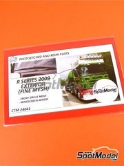 Czech Truck Model: Photo-etched parts 1/24 scale - Scania R series 2009 - photo-etched parts - for Italeri kits 3850 and 3897