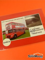 Czech Truck Model: Photo-etched parts 1/24 scale - London Routermaster bus - for Revell kit REV07651