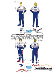 Decalpool: Decals 1/12 scale - Wayne Gardner, Freddie Spencer Rothmans - Wayne Gardner (AU), Freddie Spencer (US) - Motorcycle World Championship 1986 - for Tamiya references TAM14122, TAM14123 and TAM14124