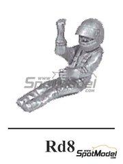 Denizen: Figura escala 1/43 - Piloto de F1