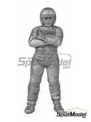 Denizen: Figure 1/43 scale - Standing, helmet on