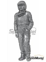 Denizen: Figure 1/43 scale - Standing casual pose, goggles, peak