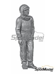 Denizen: Figure 1/43 scale - Standing casual pose, goggles, peak