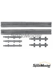 Denizen: Figure 1/43 scale - Armco Barrier 2x73mm lengths
