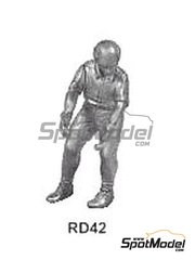 Denizen: Figure 1/43 scale - Crewman to hold wheel