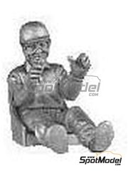Denizen: Figure 1/43 scale - Mid 50's driver in car including seat