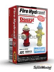 Doozy Modelworks: Maqueta escala 1/24 - Boca de incendios - piezas de resina