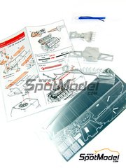 EJan: Detail up set 1/20 scale - Lotus Ford Type 79 - photo-etched parts, metal pieces and details - for Tamiya kits TAM20060 and TAM20061