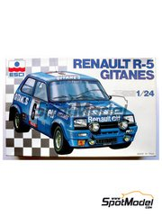 ESCI: Model car kit 1/24 scale - Renault R5 Alpine