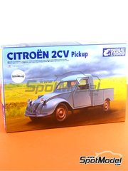 Ebbro: Model car kit 1/24 scale - Citroën 2CV - plastic model kit