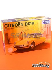 Ebbro: Model car kit 1/24 scale - Citroën DS19 - plastic model kit